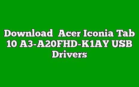 Acer Iconia Tab 10 A3-A20FHD-K1AY