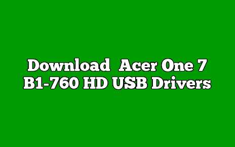 Acer One 7 B1-760 HD
