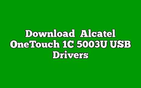 Alcatel OneTouch 1C 5003U