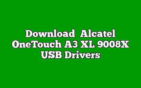 Alcatel OneTouch A3 XL 9008X