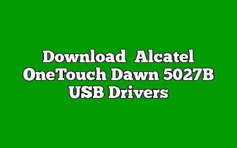 Alcatel OneTouch Dawn 5027B