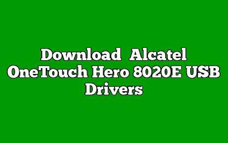 Alcatel OneTouch Hero 8020E
