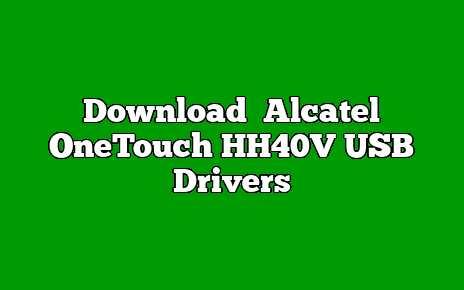 Alcatel OneTouch HH40V
