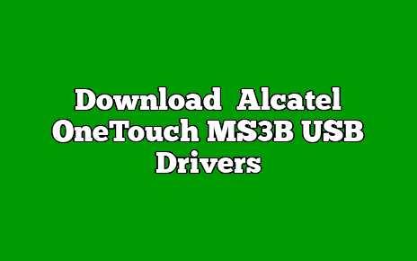 Alcatel OneTouch MS3B