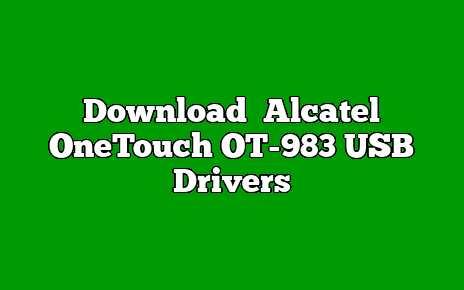 Alcatel OneTouch OT-983