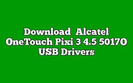 Alcatel OneTouch Pixi 3 4.5 5017O