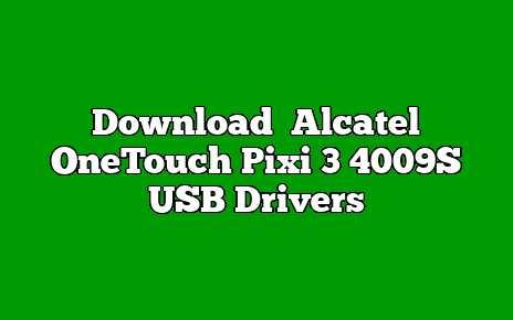Alcatel OneTouch Pixi 3 4009S