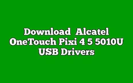 Alcatel OneTouch Pixi 4 5 5010U