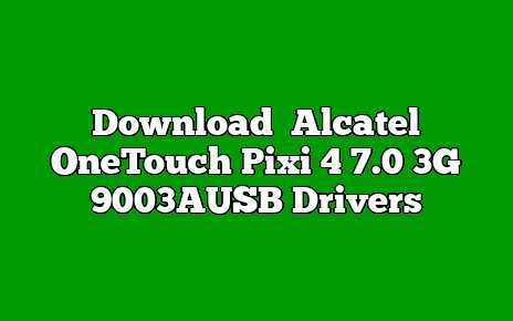 Alcatel OneTouch Pixi 4 7.0 3G 9003A
