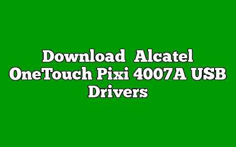 Alcatel OneTouch Pixi 4007A