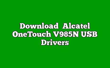 Alcatel OneTouch V985N
