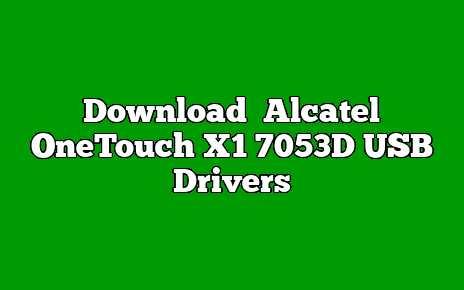 Alcatel OneTouch X1 7053D