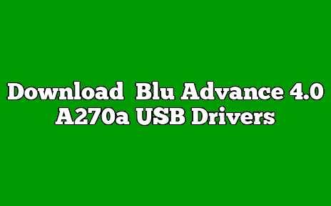 Blu Advance 4.0 A270a