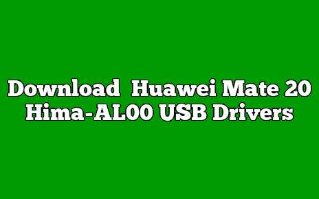 Huawei Mate 20 Hima-AL00