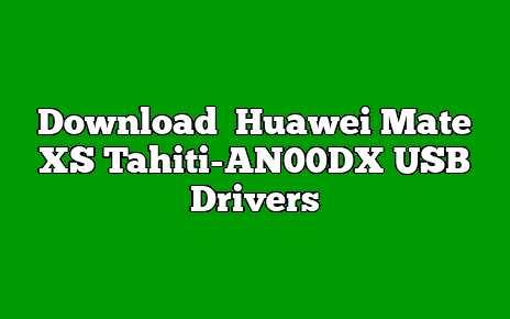 Huawei Mate XS Tahiti-AN00DX