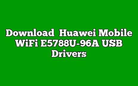 Huawei Mobile WiFi E5788U-96A