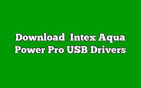 Intex Aqua Power Pro