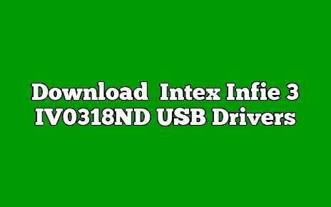 Intex Infie 3 IV0318ND