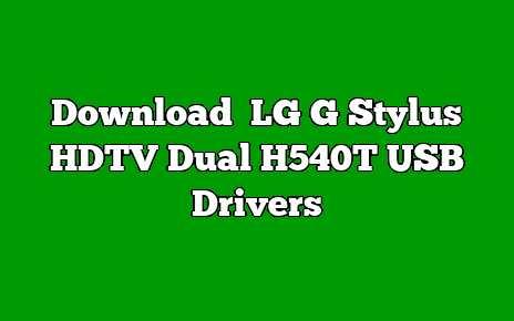 LG G Stylus HDTV Dual H540T