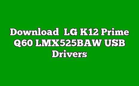 LG K12 Prime Q60 LMX525BAW