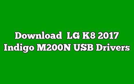 LG K8 2017 Indigo M200N