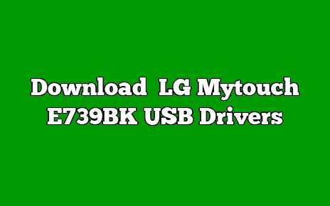 LG Mytouch E739BK