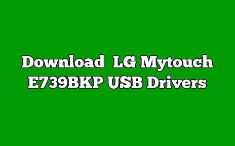LG Mytouch E739BKP