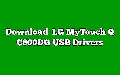 LG MyTouch Q C800DG