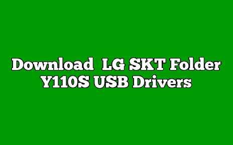 LG SKT Folder Y110S