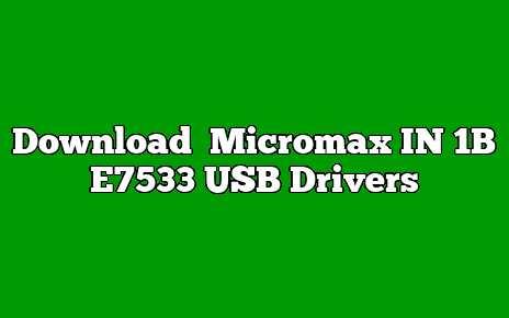 Micromax IN 1B E7533