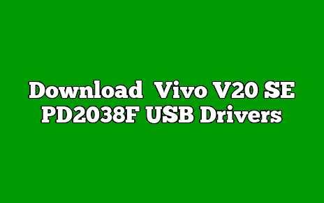 Vivo V20 SE PD2038F