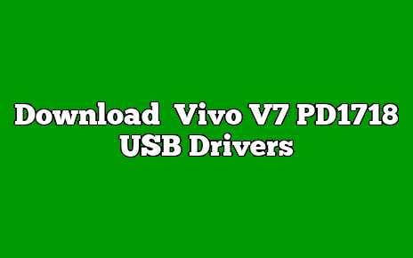 Vivo V7 PD1718
