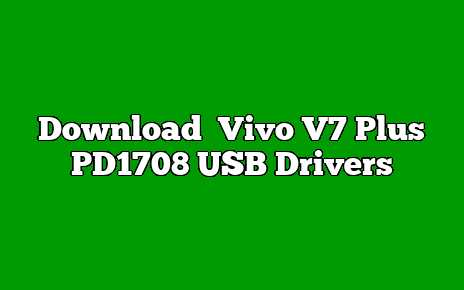 Vivo V7 Plus PD1708