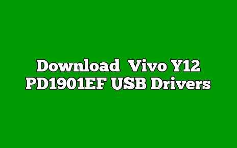 Vivo Y12 PD1901EF
