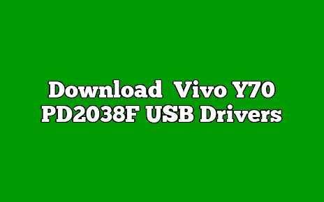 Vivo Y70 PD2038F