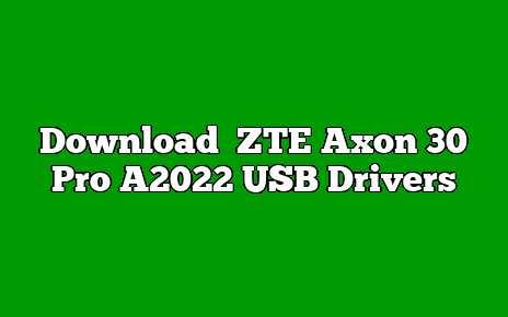 ZTE Axon 30 Pro A2022
