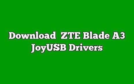 ZTE Blade A3 Joy